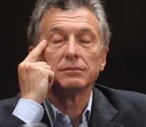 Macri canceló el timbreo y evitó el contacto con la gente.
