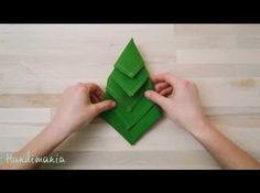 Come fare albero di natale con tovagliolo