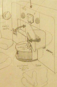 joe colombo - 'cabriolet bed' 1969