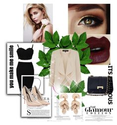 """Bez naslova #17"" by ellviisa-besic ❤ liked on Polyvore featuring Sophia Webster, Aspinal of London, Warehouse and Pasquale Bruni"