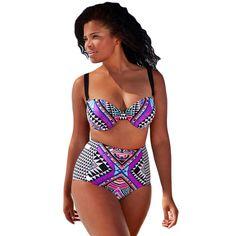 3831ac3c250 bikini set two piece Women Swimwear Tribal Print Plus Size Brazilian Strap  High Waist Celebrity Tawny Underwire Dubrovnik     AliExpress Affiliate s  Pin.