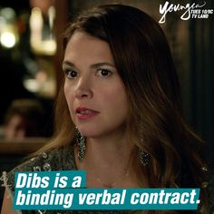 Always has been, always will be. Click to watch Sutton Foster in the latest episode of Younger on TV Land. 10/9 C.