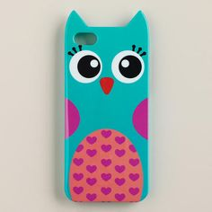 Funky Owl iPhone 5 Case at Cost Plus World Market