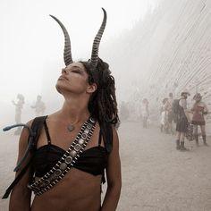 Burning Man 2010 by Hector Santizo, via Behance