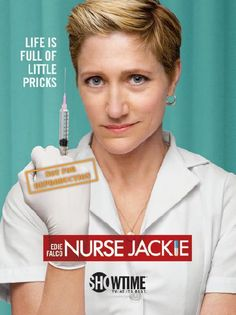 Nurse Jackie...  The lovable loser.  It is, however, more interesting when she's up to her sneaky ways.