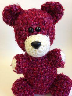 Stuffed Animal  Amigurumi Teddy Bear  Crochet by TheSimplyHooked