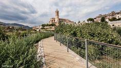 Sistema de irrigação das hortas termais na cidade espanhola de Caldes de Montbui (Foto: Adriá Goula / Divulgação Prêmio Europeu de Espaço Público…