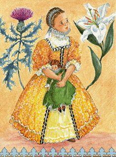 L'enfant reine Marie Stuart (The Child Queen Mary Stuart)  by Marie-Claude Monchaux (1933, French)