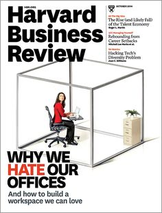 Today's offices don't encourage us to mingle—but that's what creativity and productivity demand.