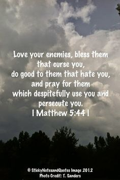 Loving those that wish you harm is literally undoing all the negative energy that person is trying to bring into your life. Always pray for people who wish you wrong so God can deal with them. ~Me  #God