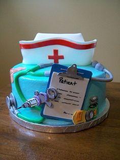 Enfermeras, cake