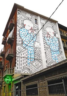 "by Millo - ""Sometimes I make a fun of myself"" - Torino, Italy - Nov 2014"