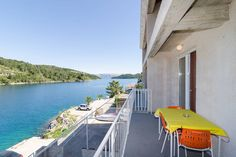 Apartment in Polače, Croatia. The house consists of 5 identical apartments located in the heart of Polače. We have focused on simplicity&functionality cause our biggest assets are balconies/terraces overlooking the sea. Our guests spend the most timer there, enjoying the sunse...