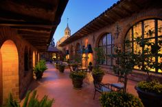 The Mission Inn Hotel & Spa - I need to find something like this on the East Coast!