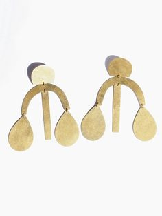 Annie Costello Brown - Arc Drop Chandelier Earrings - All
