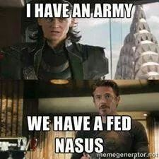 Yes . A full stuff fed Nasus . And if you destroy your laptop while rolling your head on it ; you won .
