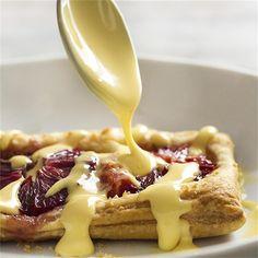 Puff Pastry Blood Orange Galettes by justalittlebitofbacon - #KeepOnCooking #Dessert #Sweet #Fruit #Pie #Tart #Vegetarian