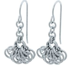 Fuchsia Dangle Earring Pattern #diyjewelry