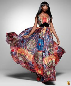 Vlisco collection called Nouvelle Histoire: Heritage Rediscovered