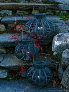 Lanterns & Bittersweet. Autumn Evening Soiree.  Image: michaela @ thegardenerseden.com