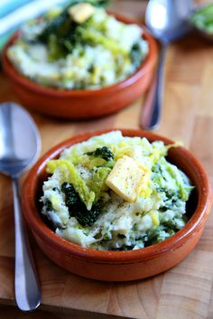 Colcannon (traditional Irish food) - photo credit: colcannon7 by donalskehan on Flickr (see link below); recipe from foodnetwork.com (pin link)