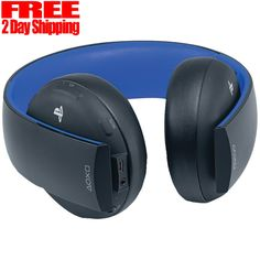 PlayStation Gold Wireless Stereo Headset - Jet Black #Sony