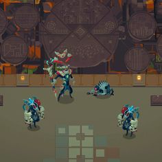 Units Enchantment Game Design, Pixel Art, Game Art, Roguelike Rpg, Level Design, Pixel Characters, Minions, Unity 3d, Anatomy Sketches