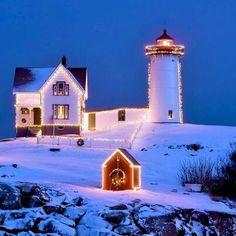 Cape Neddick, York, Maine USA