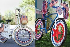 Bike Decorations | 30 Ways to Rock the 4th of July