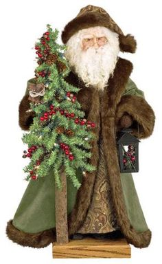 Father Christmas Ditz Designs 29 inch Forest Gentleman
