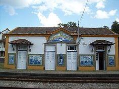 Jorge Colaço | Estação Ferroviária de / Railway Station of Castelo de Vide | s.d. #Azulejo #CasteloDeVide #JorgeColaço
