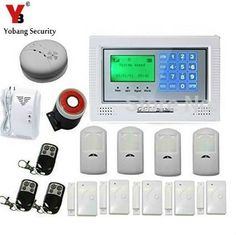 YobangSecurity Russian/Spanish/French /Italian/Czech/Portuguese Wireless Home and Business Security Alarm System with Auto Dial #wirelesshomesecuritysystem