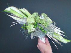 bruidsboeket - wit assymmetrisch lang falenopsis boechout