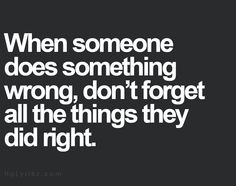 Doing right things is subjective hmm