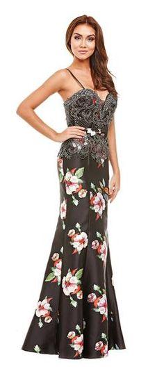 bf1a79508 Vestido Estampado Floral Hibisco Vestido Básico