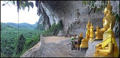 I don't drag my kids out to temples that often these days now they are getting older and have their own things to do, but even they were impressed by Tham Paya Nakarat temple. Side Road, Back Road, Dragon Cave, Buddhist Shrine, Concrete Building, Krabi, Family Day, Wakeboarding, Phuket