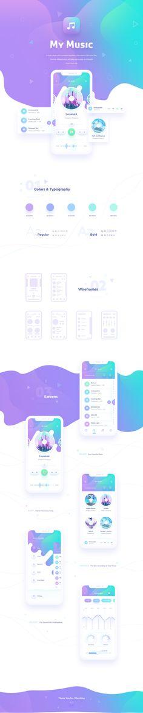 Music Player iOS app on Behance