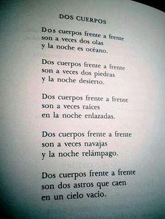 Octavio Paz consuelanos esta noche..