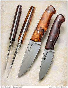 Photos SharpByCoop • Gallery of Handmade Knives - Page 56