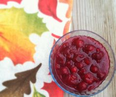 Slow Cooker Apple Cinnamon Cranberry Sauce