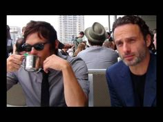 Norman Reedus & Andrew Lincoln - Count on me (true friendship)