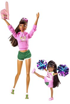 2009 Grace™ & Courtney® Dolls — School Spirit | Barbie Collector, Release Date: 8/6/2009 Product Code: P6914, $19,99 Orginal Price