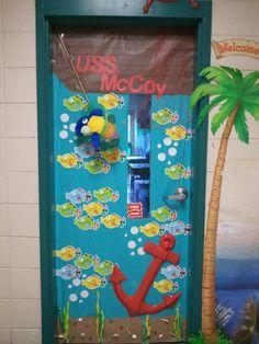 Sea Themed Door