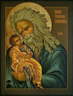 La profecía de Simeon ícono