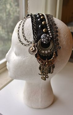 Headpiece by theverdantmuse on Etsy