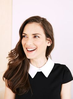 Winona Ryder, photographed by Amanda Friedman for Stella magazine, March 2, 2014.