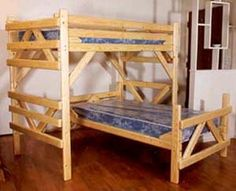 1000 Ideas About L Shaped Bunk Beds On Pinterest Bunk