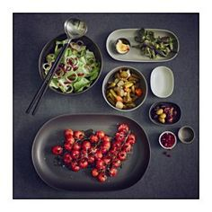IKEA - SITTNING, Bowl, Gives your table a rustic feel thanks to the simple shapes and matte finish in several shades of gray.Made of feldspar porcelain, which makes the bowl impact resistant and durable.Perfect for different sauces or small dishes.
