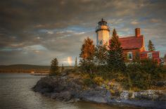 Eagle Harbor Lighthouse by Hepjr