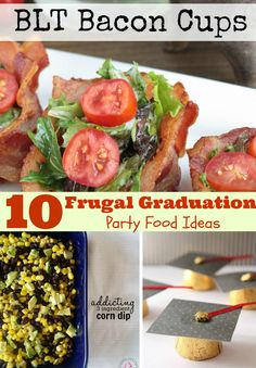 Frugal Graduation Party Food ~ TheCentsAbleShoppin.com